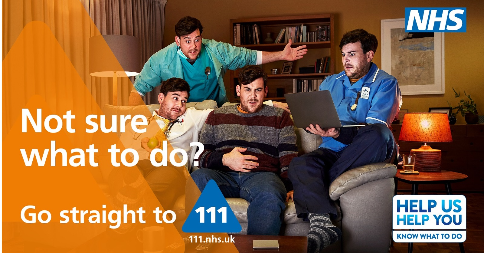 Not sure what to do? Go straight to NHS 111 88