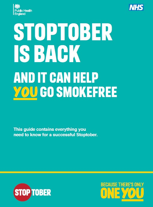 Stoptober is back -  and it can help you go smokefree