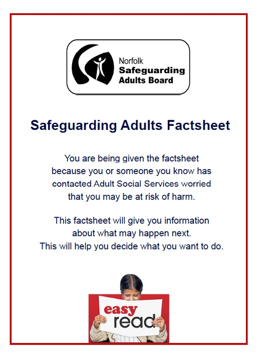 Safeguarding adults from abuse booklet