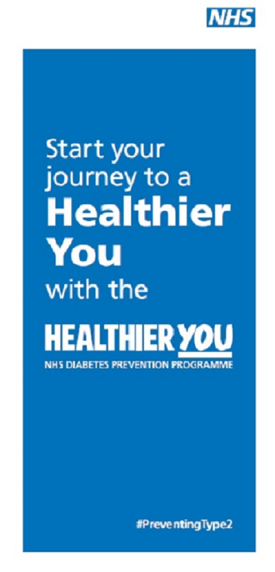 Start your journey to a healthier you - NHS diabetes prevention programme