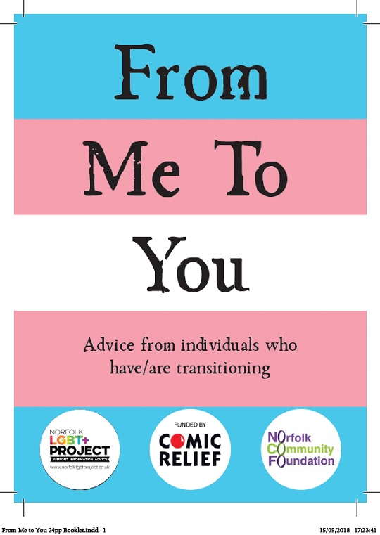 From me to you - advice from individuals who have/are transitioning