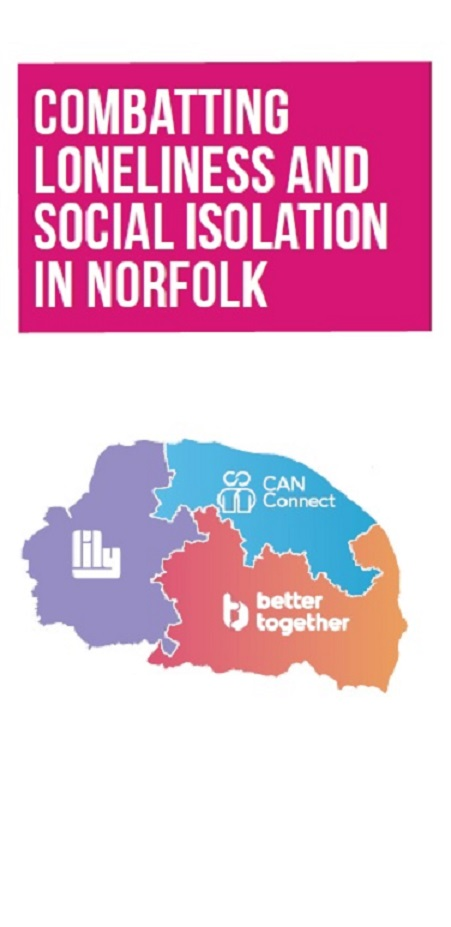 Combatting loneliness and social isolation in Norfolk