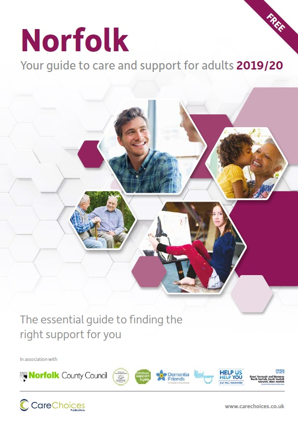 Norfolk - your guide to care and support for adults 2019/20