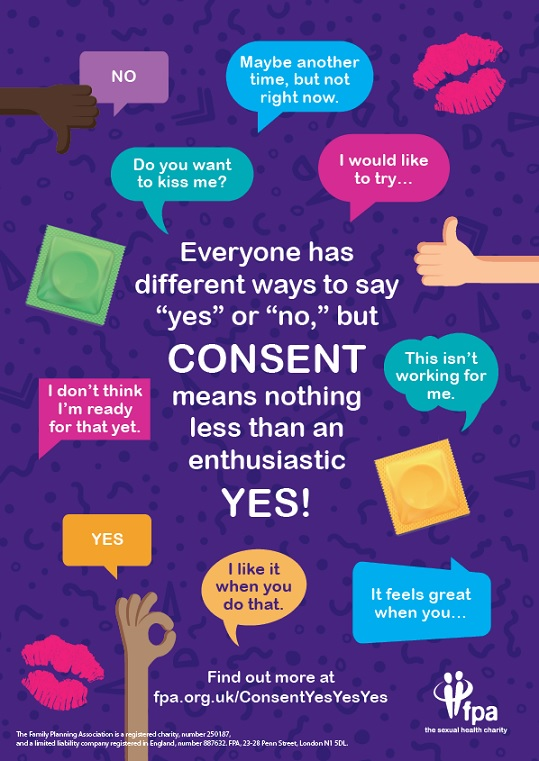 Everyone has different ways to say yes or no (A4 poster)