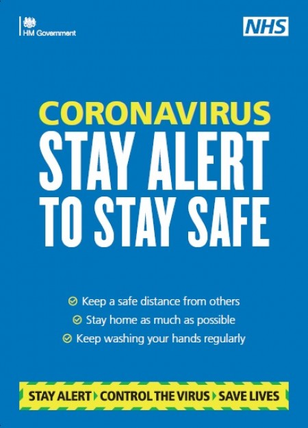 Stay alert to stay safe - travel hubs (A4 poster)
