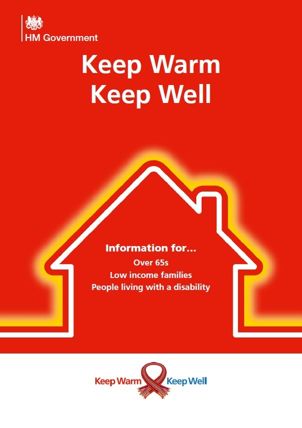 Keep warm, keep well - information for over 65's, low income families and people living with a disability