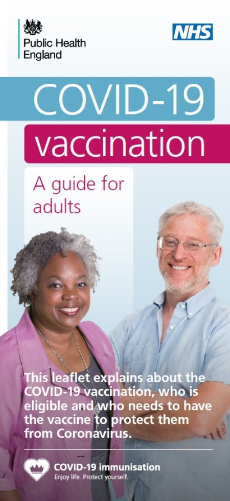 COVID 19 vaccination - a guide for adults