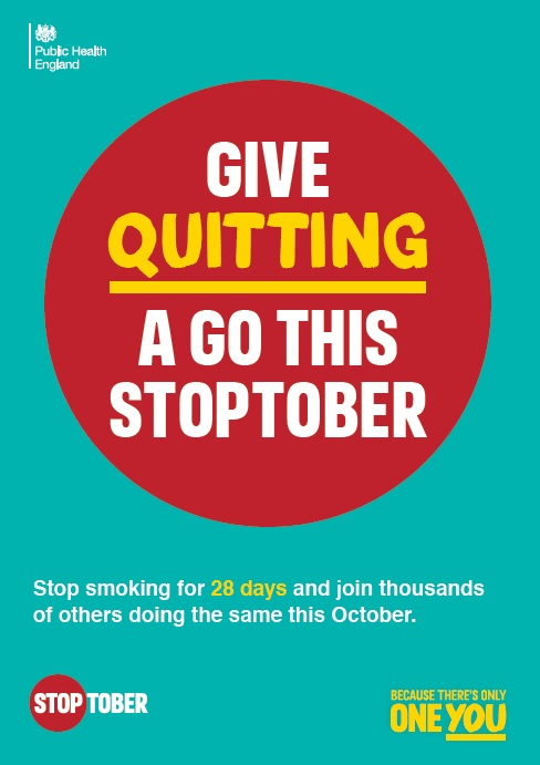 Give quitting a go this stoptober