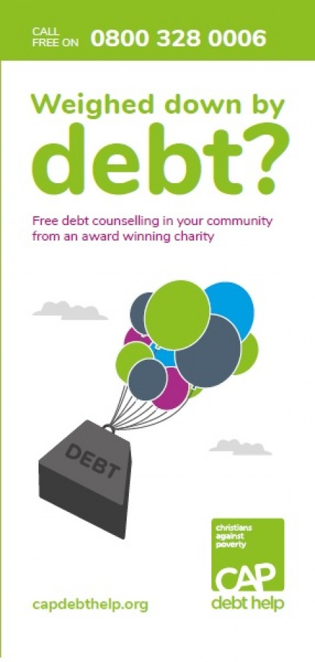 Weighed down by debt? (leaflet)