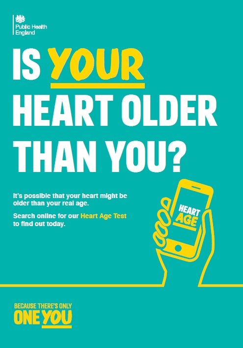 Is your heart older than you? (leaflet)