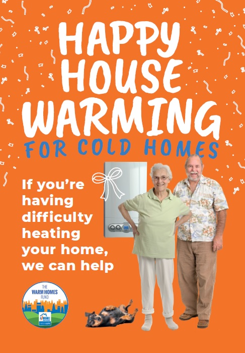 Happy house warming for cold homes (elderly)